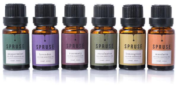 Spruse Essential Oils Review (by WhippedGreenGirl.com) #essentialoils #aromatherapy #oils #pure #canada