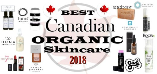 Best Canadian Organic Skincare 2018