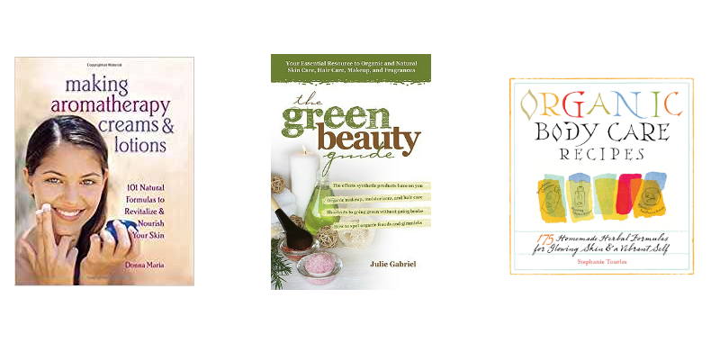 Top 3 DIY Skincare Recipe Books (by WhippedGreenGirl.com) All gems for any DIY skincare lovers! #DIYskincare #aromatherapy #skincare #recipes