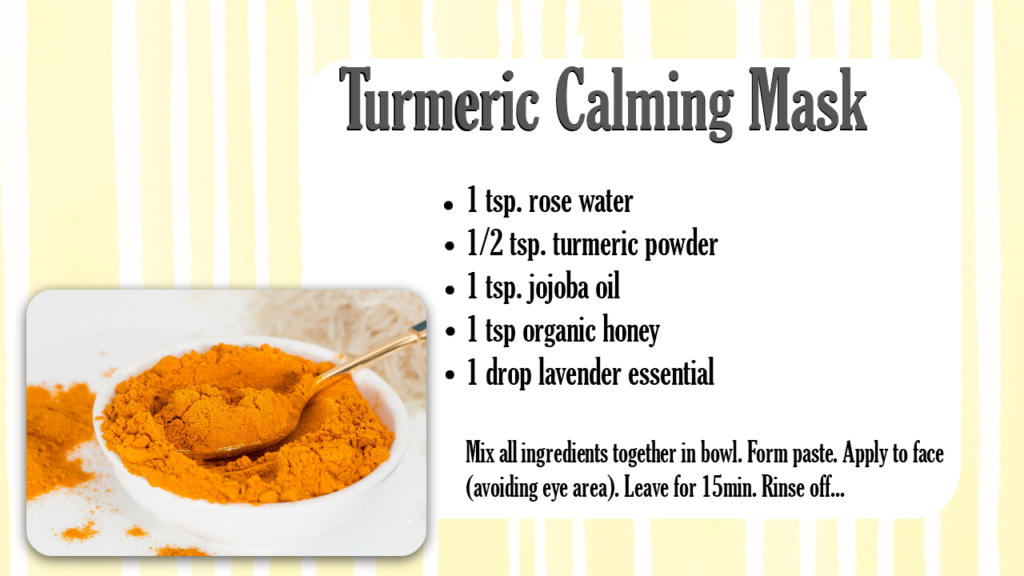 Adding Turmeric to Face Masks (By WhippedGreenGirl) +3 DIY TURMERIC FACE MASK RECIPES #organic #skincare #aromatherapy #turmeric #acnemask #skinlightening