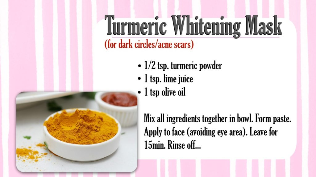 Adding Turmeric to Face Masks - WhippedGreenGirl.com