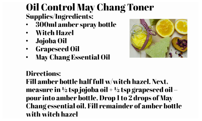May Chang Essential Oil Benefits (by WhippedGreenGirl.com) #MayChang #EOs #EssentialOils #DIYSkincare #SkincareRecipes #Skincare #DIY