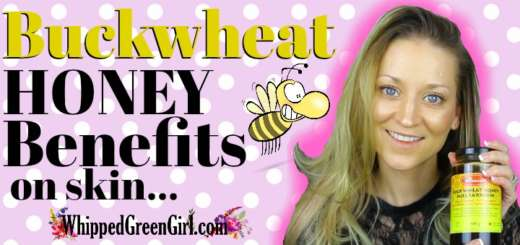 Buckwheat Honey Benefits on Skin (by WhippedGreenGirl.com) See all the benefits + 2 DIY skin care recipes! #AllNatural #GreenBeauty #Honey #FaceCleanser #DIY #DIYSkincare #SkincareRecipes #Honey #HoneyMask