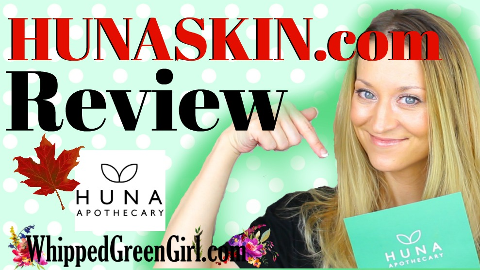 Huna Skin Apothecary Review (by WhippedGreenGirl.com) #HUNA #GreenBeauty #Organic #Skincare #Aromatherapy #CuttingEdge