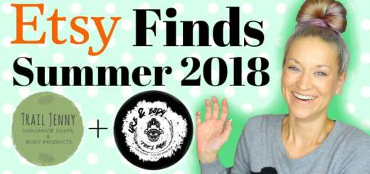 Etsy Summer 2018 Finds (by WhippedGreenGirl.com) Including Trail Jenny Handmade Soaps and UrbandBody #allnatural #organic #skincare #etsy #etsyfinds