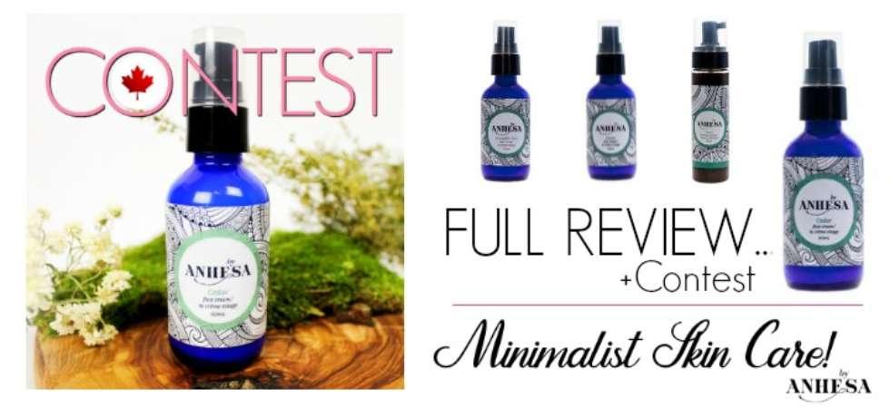 Minimalist Skin care - ByAnhesa Cedar Face Cream Review #ByAnhesa #Cedar #GreenBeauty #Natural #Skincare