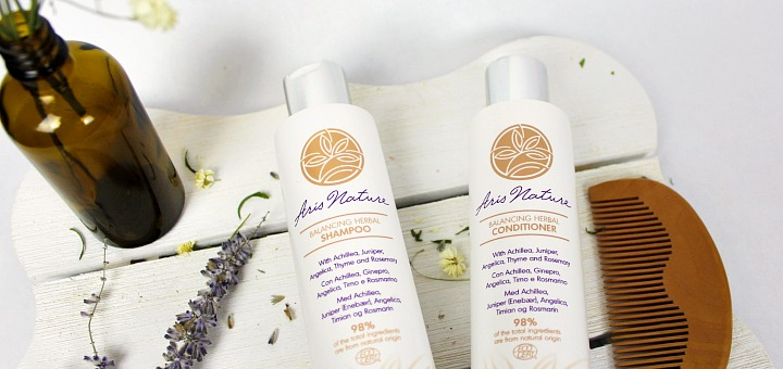Aris Nature Review - by WhippedGreengirl.com #aris #arisnature #shampoo #conditioner #natural #haircare #naturalhaircare