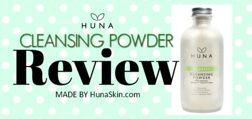 Huna Cleansing Powder Review - by WhippedGreenGirl.com #cleansingpowder #cleansing #greenbeauty #natural #skincare