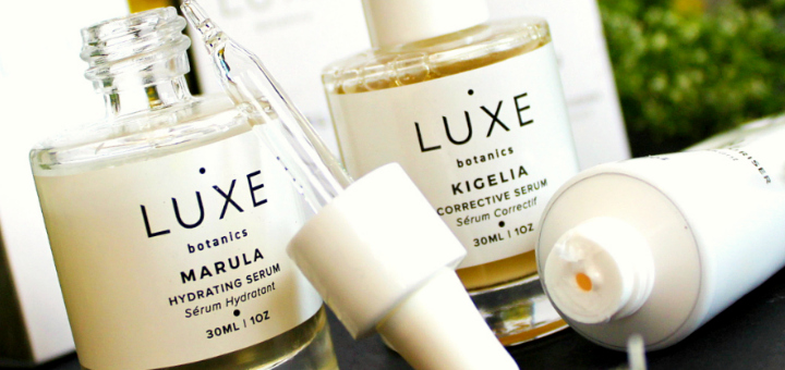Luxe Botanics Skincare Review - by WhippedGreenGirl.com #skincare #luxe #luxebotanics #greenbeauty