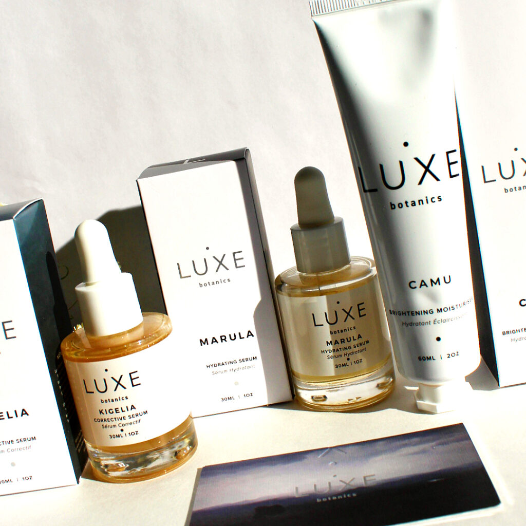 Luxe Botanics Skincare Review - by WhippedGreenGirl.com