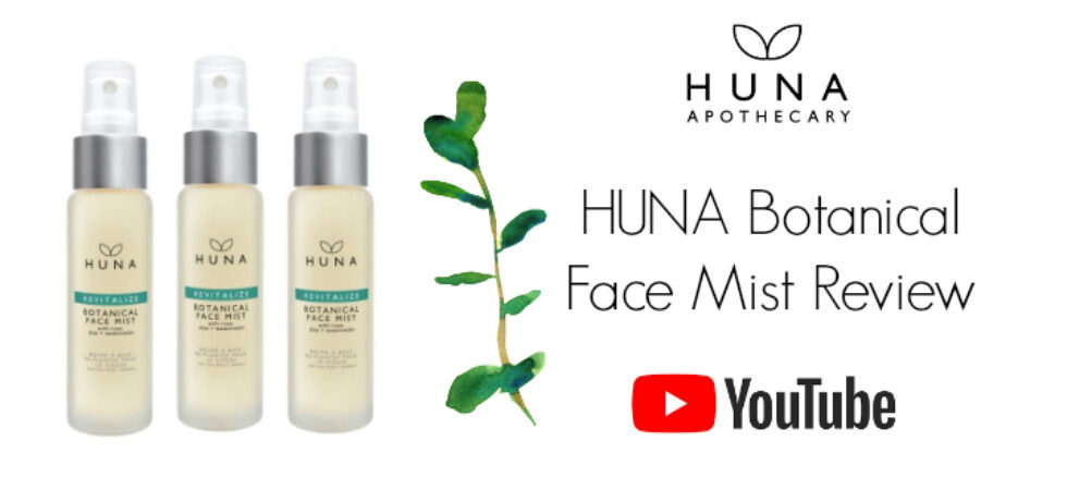 HUNA Revitalize Botanical Face Mist Review