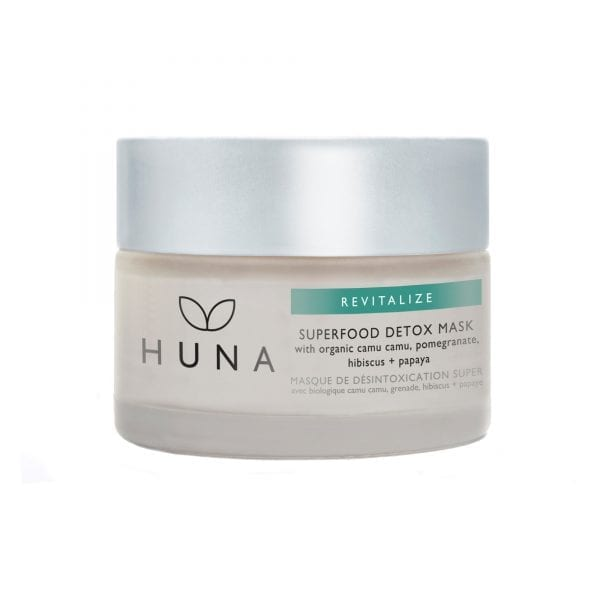 HUNA Revitalize Superfood Mask Review - by WhippedGreenGirl #facemask #detox #superfood #skincare