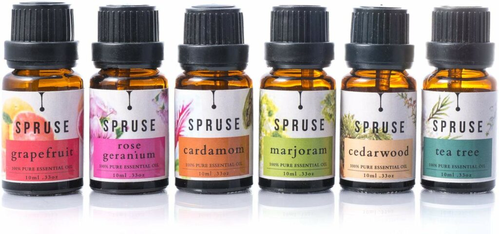 Spruse Essential Oils Review - by WhippedGreenGirl.com #canadianblogger #essentialoils #eos #canadianskincare
