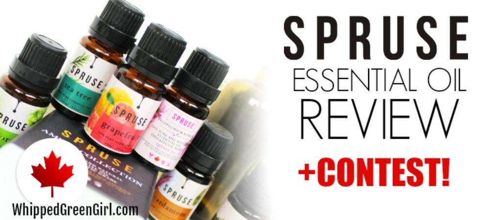 Spruse Essential Oils Review - by WhippedGreenGirl.com #canadianblogger #essentialoils #eos #canadianskincare
