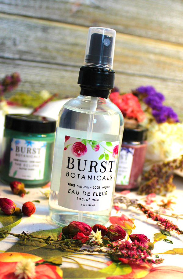 Burst Botanicals Review - by WhippedGreenGirl.com (Canadian-made skincare with a colorful twist and botanical ingredients) #greenbeauty #burstbotanics #naturalskincare #skincare #cureltyfreeskincare