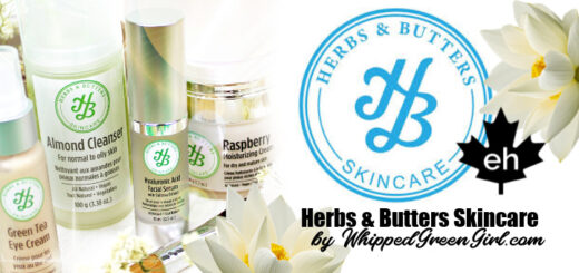 Herbs and Butters Skincare Review (Canadian made natural affordable blends) #greenbeautyblogger #canadiangreenbeauty