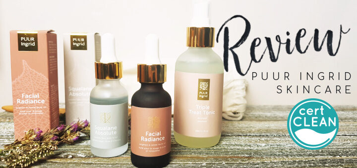 Puur Ingrid Review - by WhippedGreenGirl.com #canadiangreenbeauty (natual, Canadian skincare developed by a mother)